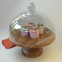 3d max cupcake 035