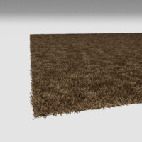 3d tan carpet flooring model