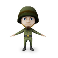 3dsmax ready cartoon style small