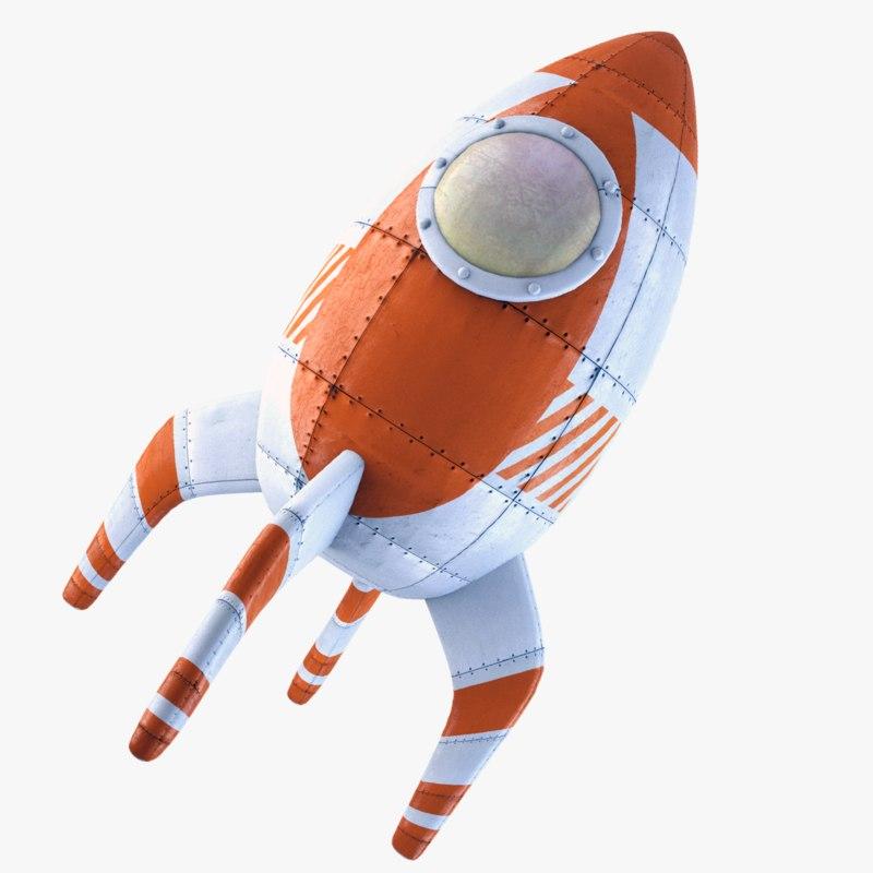 maya rocket retro