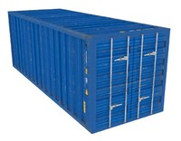 large container 3d model