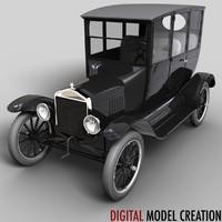 3d t sedan model