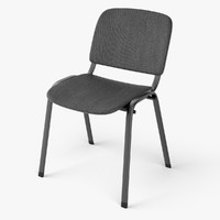 3ds max office chair iso
