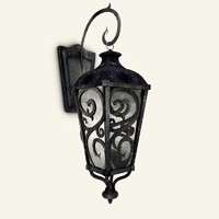 renaissance old lamp 3d 3ds
