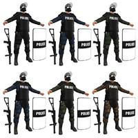 riot police pack max