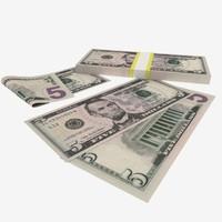 maya 5 dollars banknote