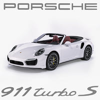 3d model porsche 911 turbo s