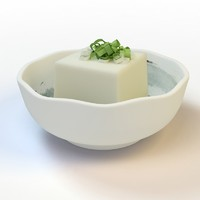 3ds max 28 tofu green onion