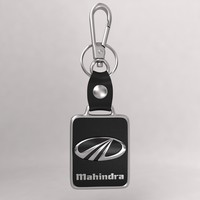 realistic mahindra car keychain 3d model