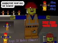 lego 3d max