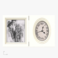 3d model picture frame clock 5