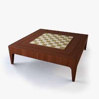 maya modern chess coffee table