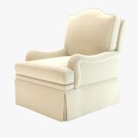 3d kindel upholstery camel