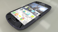 3d model of samsung galaxy s iii