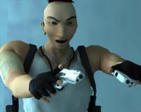 cop videogames film 3d model