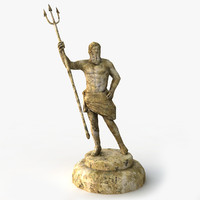 Poseidon (Low Poly)
