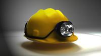 3ds miner helmet