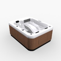 pool whirlpool 3d max
