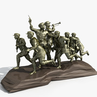 red army sculpture max