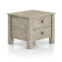 wooden bedside cabinet 3d max