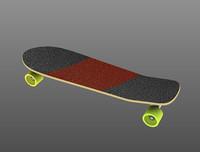 3d slalom skateboard