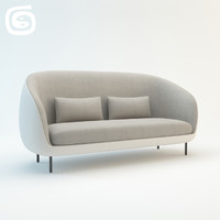 haiku sofa 3d max