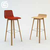 maverick cross stool 3d model