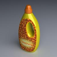 3d detergent bottle