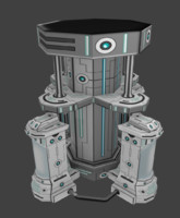 cryogenics machine 3d model