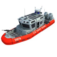 3d coast guard defender class model