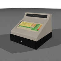 c4d cash register drawer