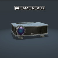 3d real-time projector model