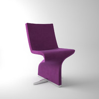 3d model of tonon twist chair