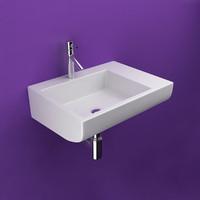 3ds max modern basin