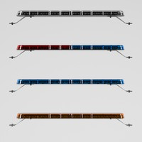 led light bar 3d max