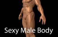 obj human male anatomy