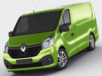 renault trafic 2015 3ds