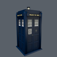 free tardis brachacki version 3d model