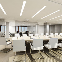 3d max conference room interior