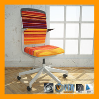 steelcase cobi chair materials 3d max
