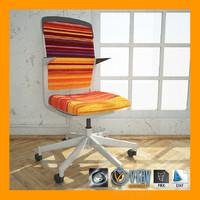 steelcase cobi chair materials 3d max