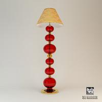 3d floor lamp arte model