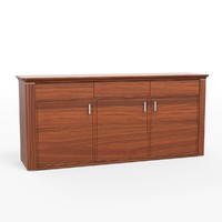 3d selva sideboard model