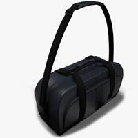 adidas bag 3d model