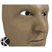 maya human face