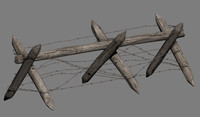 antipersonnel obstacles 3d model