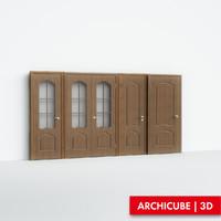 3d model doors classic