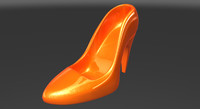 3d shoe cartoon model