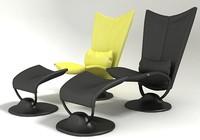 anneau armchair 3d model