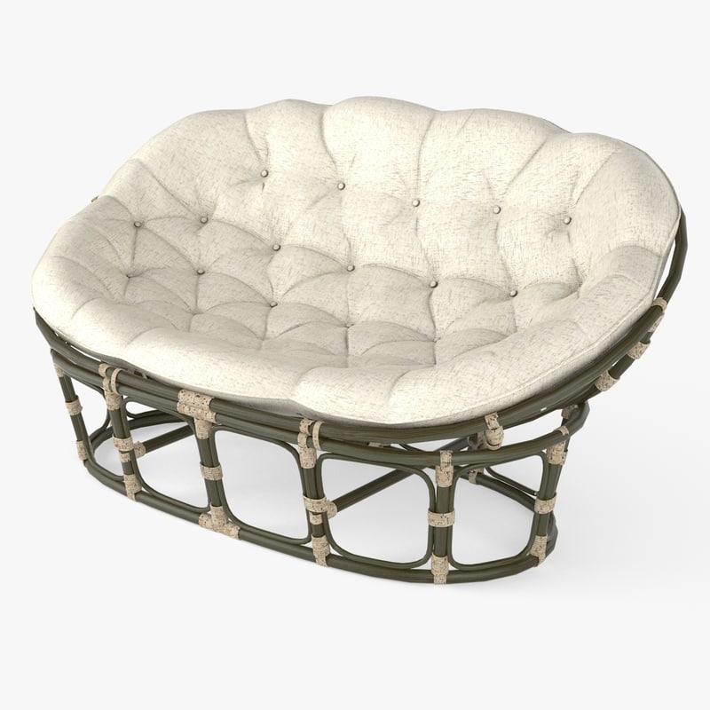mamasan chair sofa 3d obj